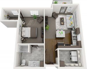 Pelican Landing Oak Assisted Living layout