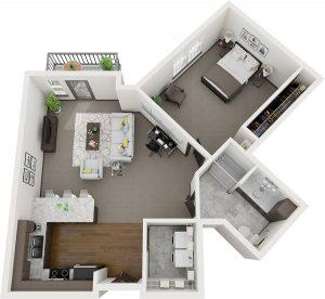 Pelican Landing Poplar Assisted Living layout