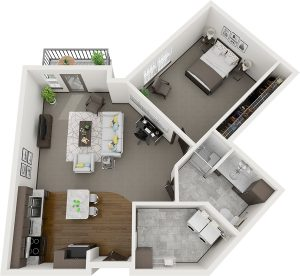 Pelican Landing Redwood Assisted Living layout
