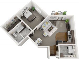 Pelican Landing Sequoia Assisted Living layout